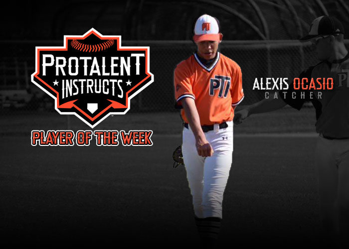 ALEXIS OCASIO NAMED PLAYER OF THE WEEK FOR PTI UNDERCLASSMEN