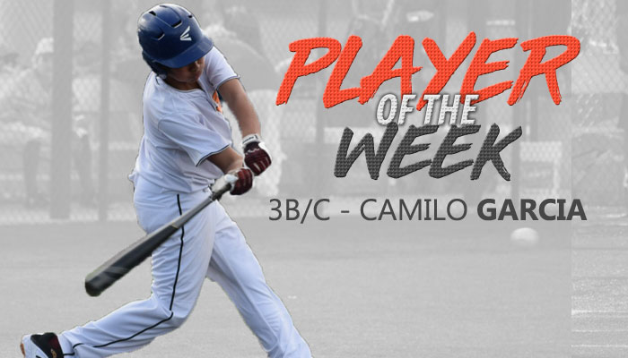 CAMILO GARCIA NAMED PLAYER OF THE WEEK IN ORLANDO